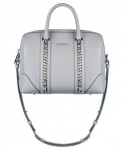 Givenchy Grey With Chains Lucrezia Medium Bag