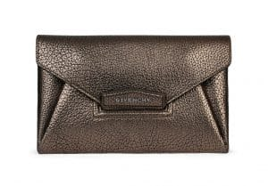 Givenchy Gun Metal Antigona Envelope Small Bag