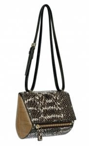 Givenchy Natural Ayers and Elaphe Pandora Box Mini Bag
