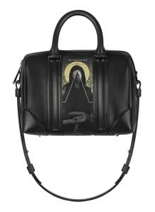 Givenchy Print on Coated Canvas with Black Trim Lucrezia Small Bag