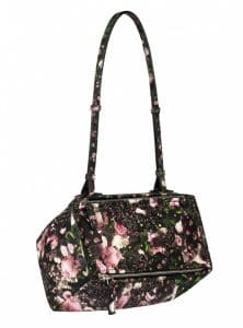 Givenchy Roses Camouflage Print Pandora Mini Bag