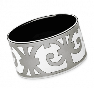 Hermes Balcons du Guadalquivir Extra Wide Enamel Bracelet