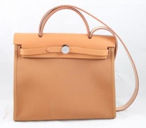 Hermes Beige Herbag Zip 31 Bag