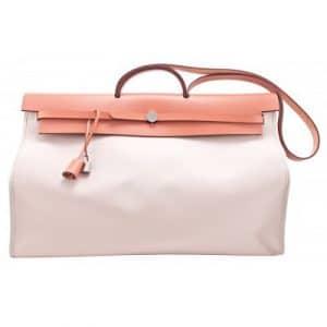 Hermes Beige Herbag Zip Cabine Bag