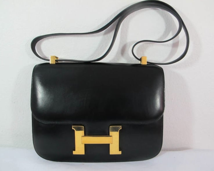 Hermes Black Constance 23 Mm Bag
