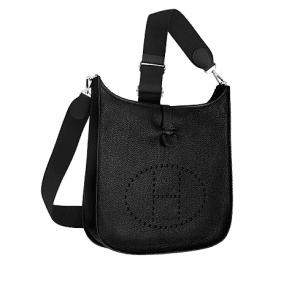 Hermes Black Evelyne III GM Bag