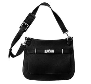 Hermes Black Jypsiere 34 Bag