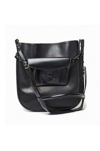 Hermes Black Messenger Bag - Fall 2013