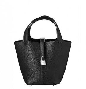 Hermes Black Picotin Lock PM Bag