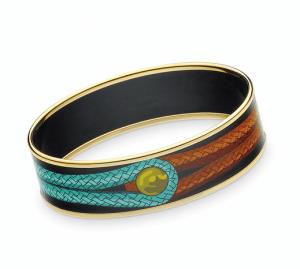 Hermes Brandebourgs Enamel Bracelet