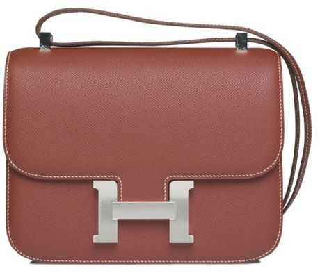 Hermes Brown Constance 23 Mm Bag