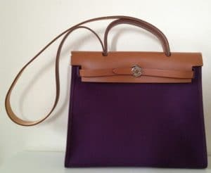 Hermes Cassis Herbag Zip 31 Bag