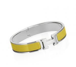 Hermes Chartreuse Clic H Bracelet