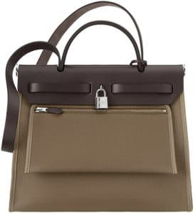 Hermes Etoupe Herbag Zip 31 Bag 2