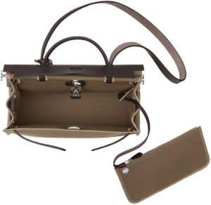 Hermes Etoupe Herbag Zip 31 Bag 3