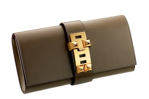 Hermes Medor Clutch Bag Reference Guide Spotted Fashion