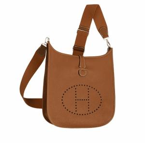 Hermes Gold Evelyne III GM Bag