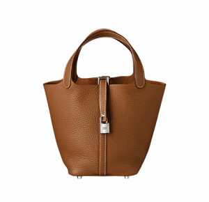 Hermes Gold Picotin Lock PM Bag