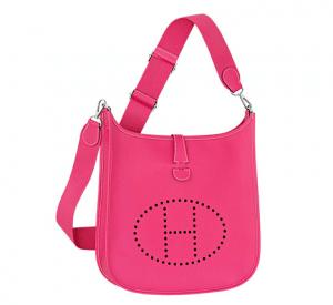 Hermes Magenta Evelyne III GM Bag