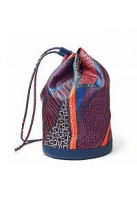 Hermes Multicolor Soie-Cool Bag - Fall 2013