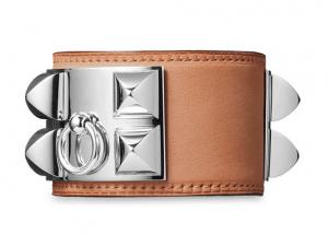 Hermes Natural Collier de Chien Small (Men's) Bracelet