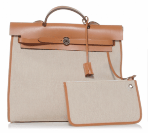 Hermes Natural Herbag Zip 39 Bag