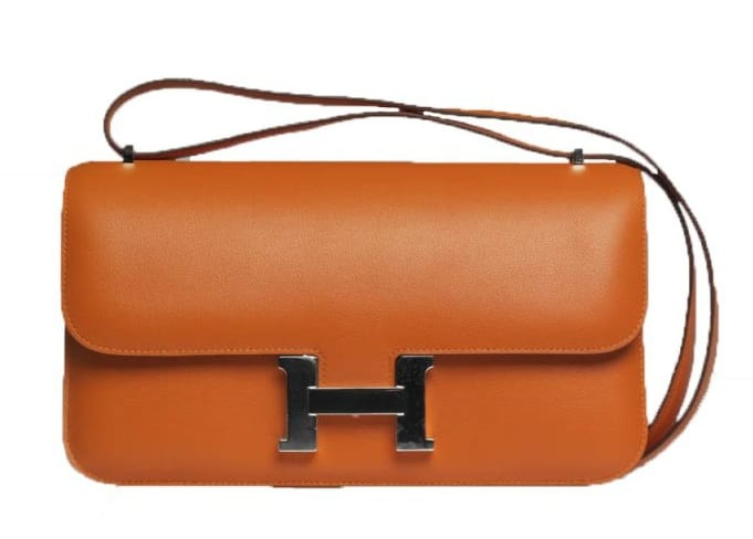 5db77848935f Hermes Rouge Ottoman Constance 24 MM Bag · Hermes Orange Constance Elan Bag