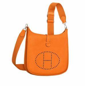 Hermes Orange Evelyne III GM Bag