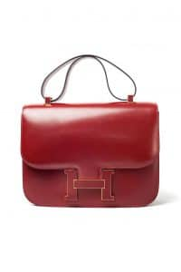 Hermes Red Constance Bag - Fall 2013