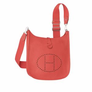Hermes Rose Jaipur Evelyne III PM Bag