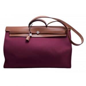 Hermes Rubis Herbag Zip Cabine Bag