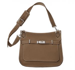 Hermes Taupe Jypsiere 31 Bag