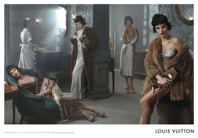 Louis Vuitton Fall/Winter 2013 Ad Campaign