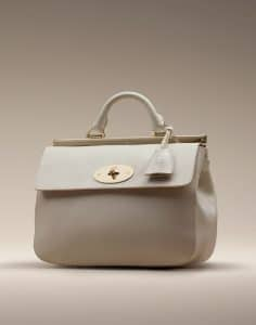 Mulberry Off White Suffolk Small Bag