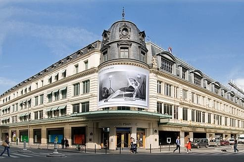 Luxury shopping guide in paris spotted fashion - Le bon marche luminaires ...