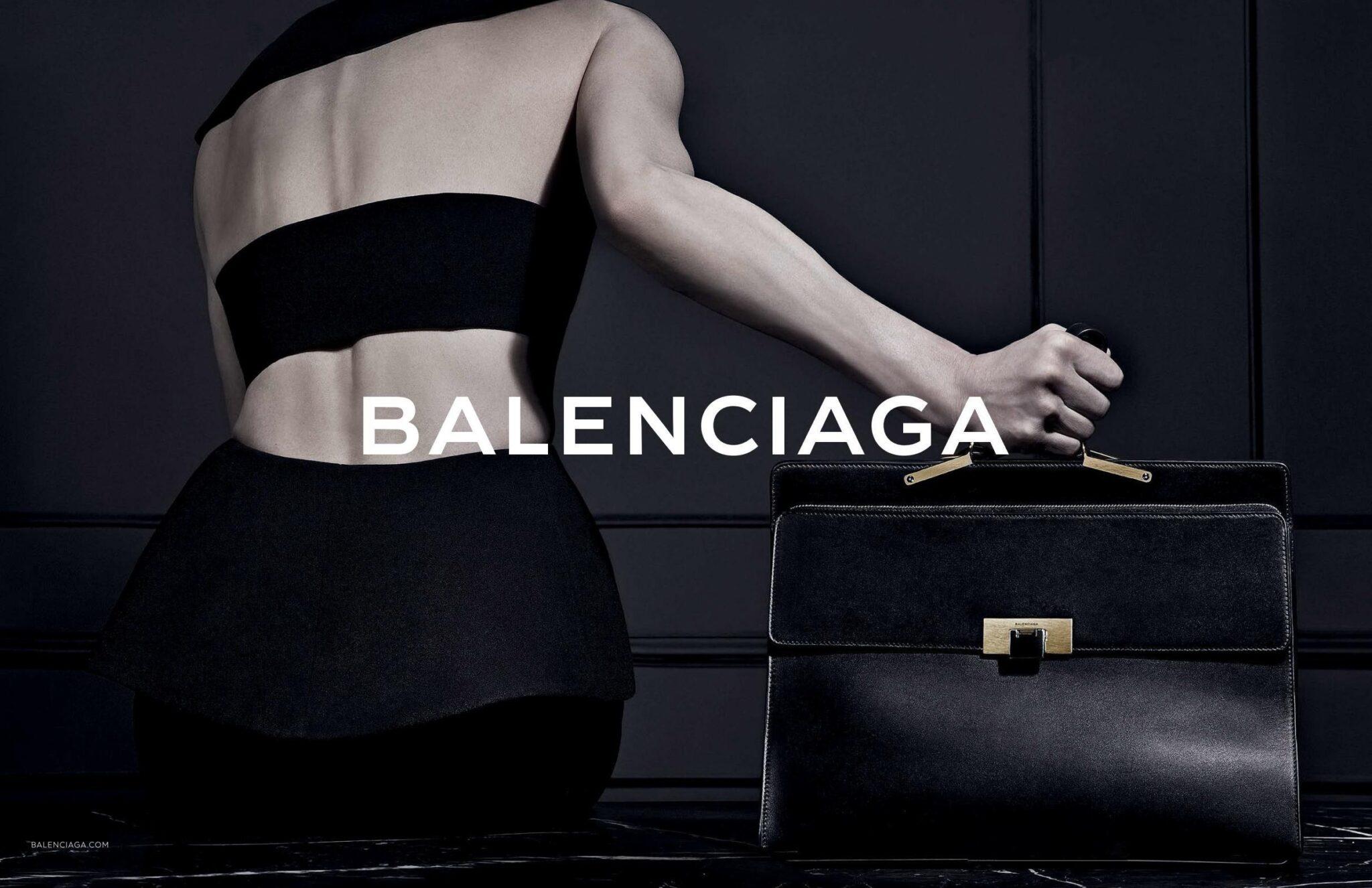 balenciaga fall 2013 ad campaign featuring le dix tote bag
