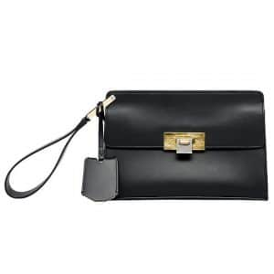 Balenciaga Black Le Dix Pochette Bag