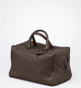Bottega Veneta Edoardo Intreciatto Nappa Top Handle Bag