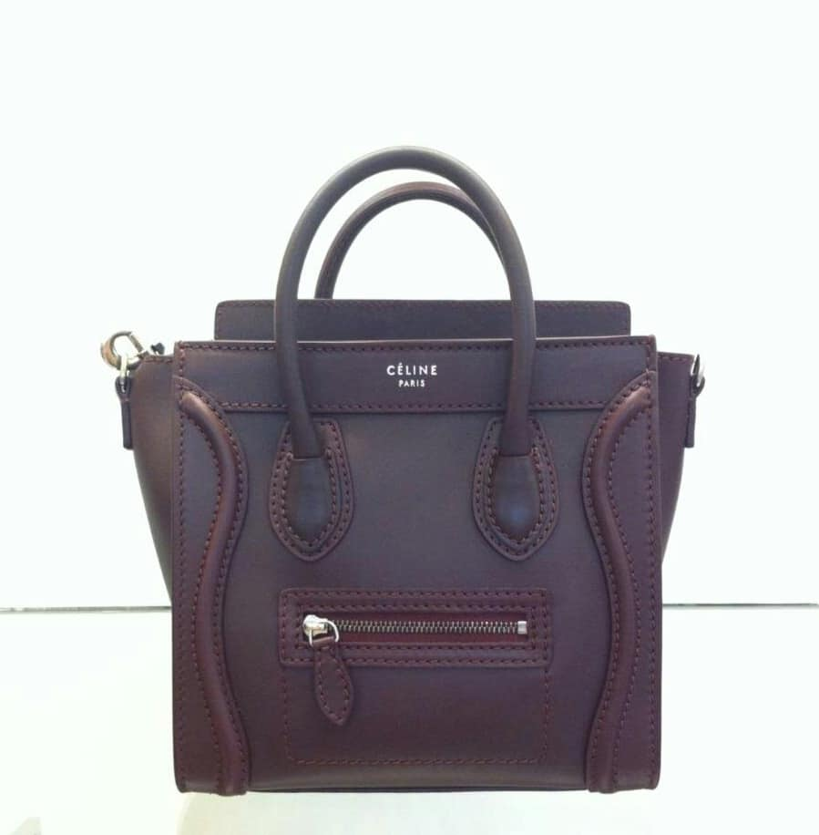 royal blue suede handbag - Celine Luggage Tote Bags for Fall 2013 and Price Increases ...