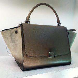 Celine Dune Trapeze Bag