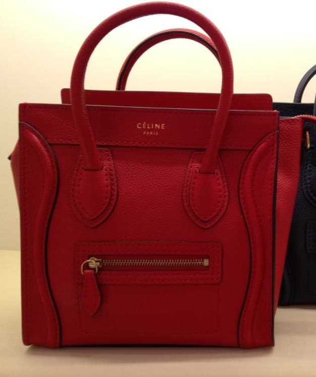 celine monogram bag - Celine Luggage Tote Bags for Fall 2013 and Price Increases ...
