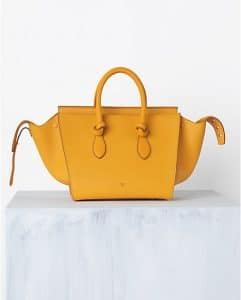 Celine Saffron Tie Tote Bag