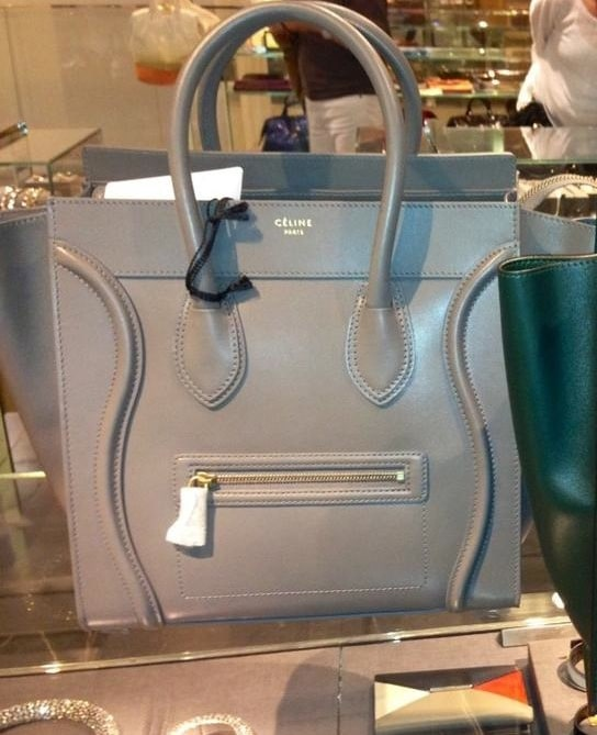 celine mini luggage dune