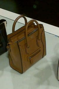 Celine Tan Nano Luggage Bag