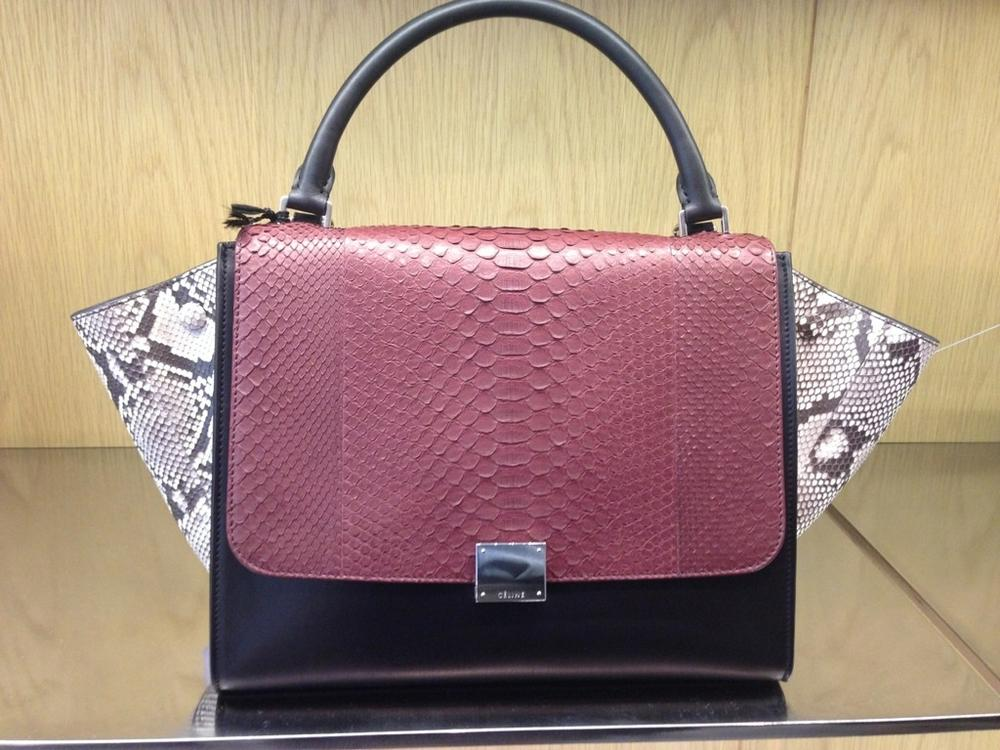Celine Trapeze Bags For Fall 2013 | Spotted Fashion