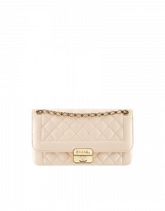 Chanel Beige Chic With Me Small Flap Bag