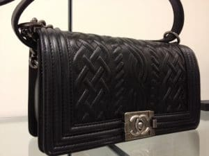 Chanel Black Boy Chanel Celtic Medium Bag