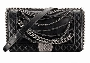 Chanel Black Boy Chanel Enchained Bag