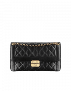 Chanel Black Chic With Me Large Flap Bag