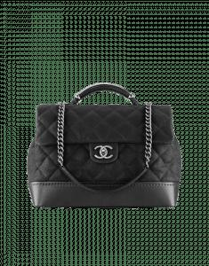 Chanel Black Globe Trotter Vanity Case Large Bag